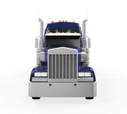 Cargo Truck Isolated Royalty Free Stock Images