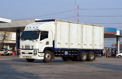 The cargo truck Royalty Free Stock Images
