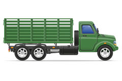 Cargo truck for transportation of goods vector illustration Royalty Free Stock Photography
