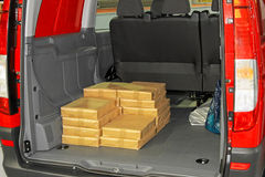 Cargo van Stock Photo