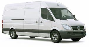 Cargo van car Imagen de archivo libre de regalías