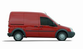 Cargo van car Royalty Free Stock Photo