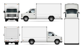 Cargo van vector illustration. vector illustration
