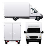 Cargo Van Royalty Free Stock Images