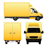 Cargo Van Royalty Free Stock Photo
