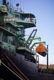 Cargo Vessel bridge Stock Photos