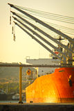 Cargo vessel Royalty Free Stock Images