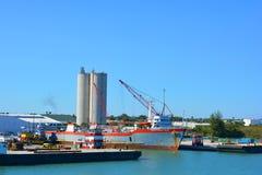 Cargo Vessel Stock Image
