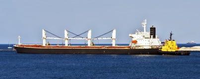 Cargo vessel Stock Images