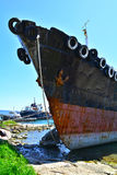 Cargo vessel for scrap Royalty Free Stock Photos