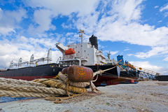 Cargo vessels Royalty Free Stock Photo