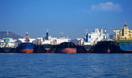 Cargo vessels Royalty Free Stock Image