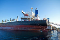 Cargo Vessels Stock Image