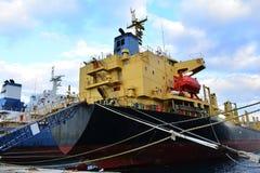 Cargo vessels Stock Photos