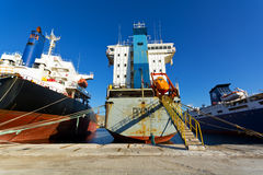 Cargo vessels Royalty Free Stock Photography