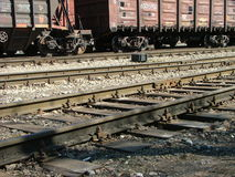 Cargo wagons Royalty Free Stock Photo
