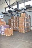 Cargo warehouse Stock Image