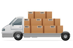 Cargo With Packets Stock Photos