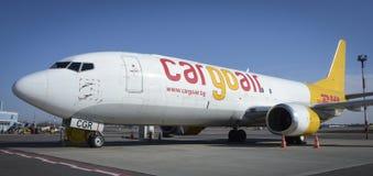 CargoAir敦豪航空货运公司 库存照片