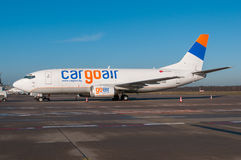 Cargoair Boeing 737 Image stock