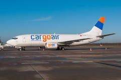 Cargoair Boeing 737 Images stock