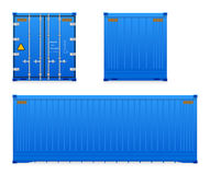 Cargocontainer Stock Image