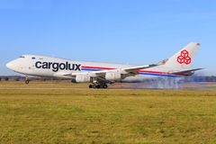 Cargolux Imagens de Stock