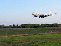 Cargolux Landung Stockfoto