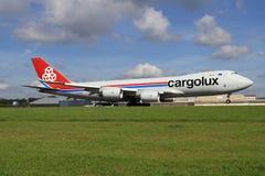Cargolux Royalty Free Stock Photos