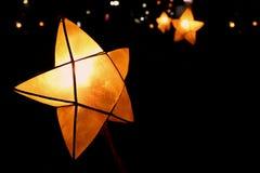 Cargos da estrela do Natal imagem de stock