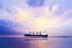 Cargoship Στοκ εικόνες με δικαίωμα ελεύθερης χρήσης