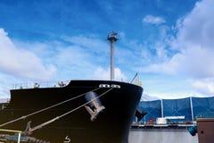 Cargoship lizenzfreie stockbilder