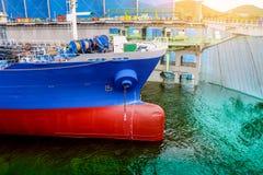 Cargoship Zdjęcie Stock