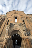 Carhedral Fethiye moské i den forntida staden för Ani, Kars, Turkiet Royaltyfri Bild