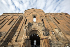 Carhedral Fethiye Mosque in Ani ancient city, Kars, Turkey. Carhedral Fethiye Mosque in Ani. Ani is a ruined medieval Armenian city now situated in the Turkey`s Royalty Free Stock Images