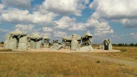 Carhenge Стоковые Изображения RF