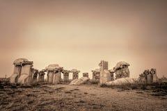 Carhenge, a modern replica of Stonehenge Royalty Free Stock Image