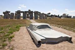 Carhenge, nebraska usa Stock Image