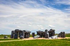Carhenge Royalty Free Stock Images