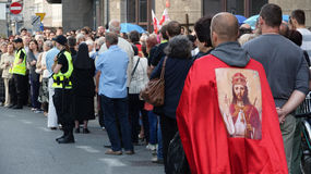 Carholics в Wroclaw, Польше Стоковые Изображения