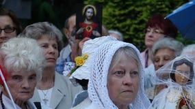 Carholics in Wroclaw, Polen Stock Afbeeldingen