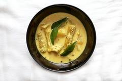 Cari de concombre de pilon (Pulincurry) Image stock