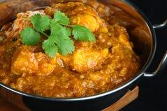 Cari indien de Dansak de poulet photographie stock
