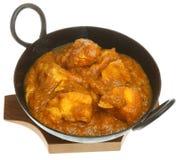 Cari indien de Dansak de poulet photographie stock libre de droits