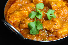 Cari indien de Dansak de poulet Photos libres de droits