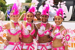 Caribbana girls Stock Photo