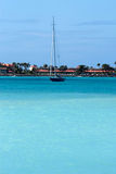 caribbean żagla statek obrazy stock