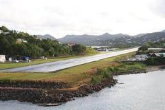 Caribbean Air Strip Royalty Free Stock Images