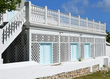Caribbean architecture Royalty Free Stock Image