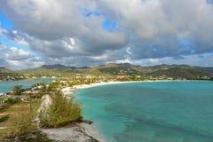Caribbean bay Royalty Free Stock Photography